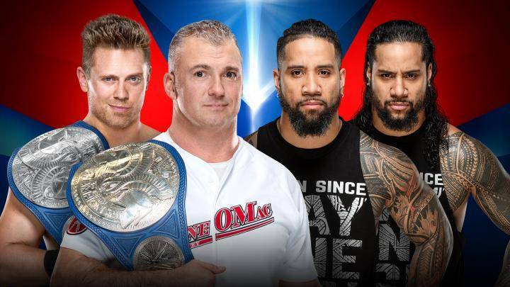 The Best in the World vs. The Usos