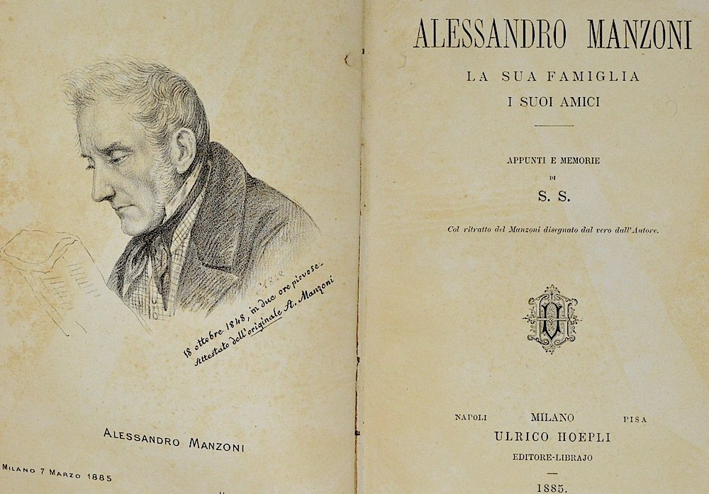 Alessandro Manzoni, appunti e memorie - Photo Credit: Amazon.it