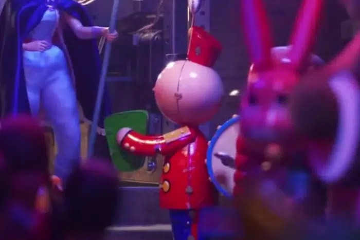 """Tin Toy"" in ""Toy Story 4""."