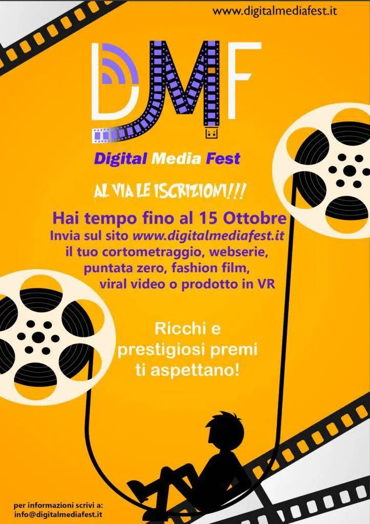 la locandina del Digital Media Fest - per gentile concessione del Digital Media Fest