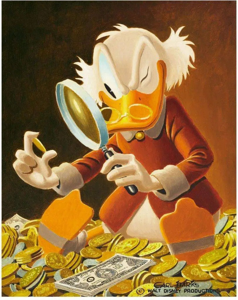 """Uncle Scrooge"", Carl Barks"