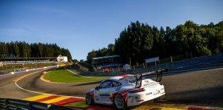 fach auto tech porsche carrera cup SPA