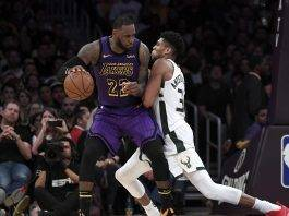 Lakers vs Bucks - Photo Credit: Getty Images