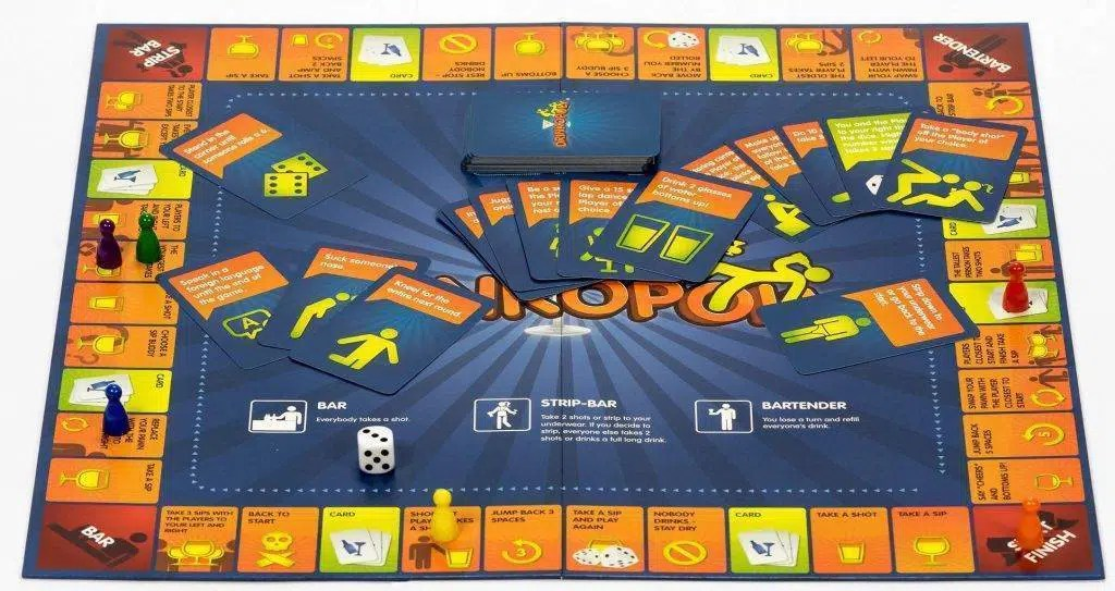 Drinkopoly plancia