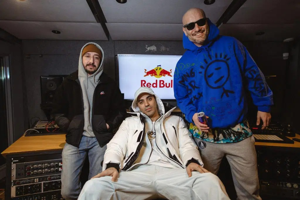 Marracash Crookers Nic Sarno Red Bull 64 bars