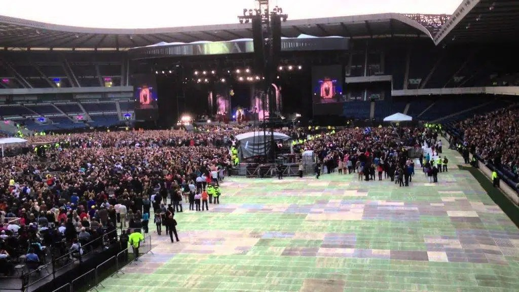 Murrayfield stadio record