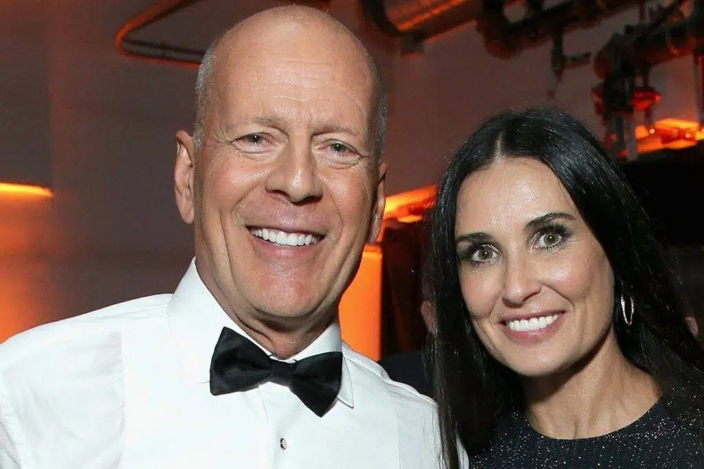 Bruce Willis con l'ex moglie Demi Moore ph. credit: Web