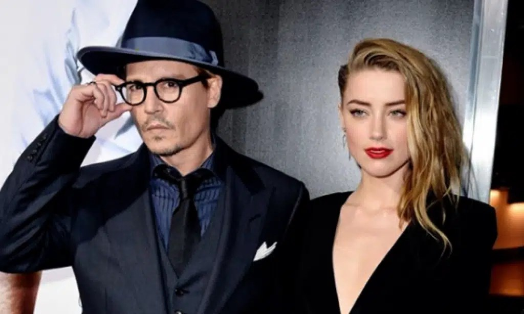 ohnny Depp states that he was beaten by his wife - the web image