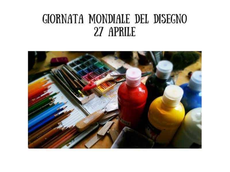 Giornata Mondiale del Disegno - Photo Credits. facebook