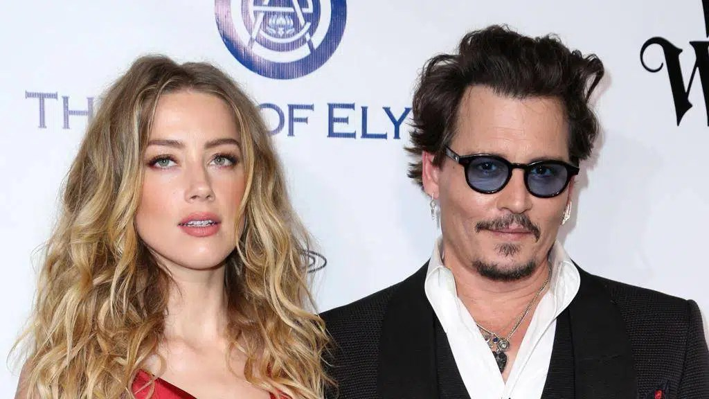 Johnny Depp and wife Amber Heard at the International Exhibition of Cinematographic Art of the Venice - web image