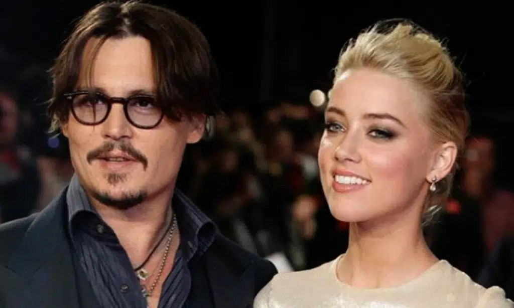 Amber Heard and Johnny Depp together - web Image