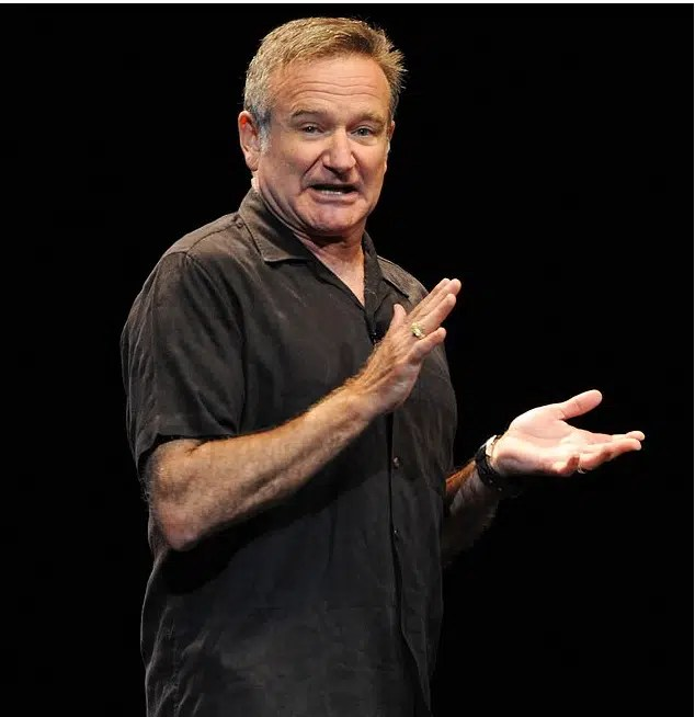 Robin Williams foto dal web. L'uomo bicentenario