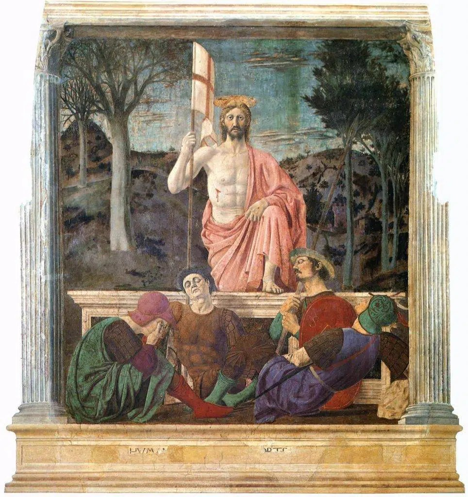 affresco-resurrezione-piero-della-francesca museo civico san sepolcro