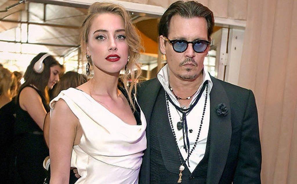 Johnny Depp and Amber Heard - web image