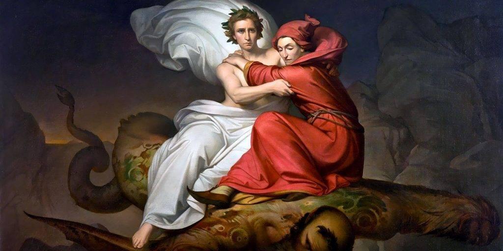 Dante e Virgilio - Immagine dal web