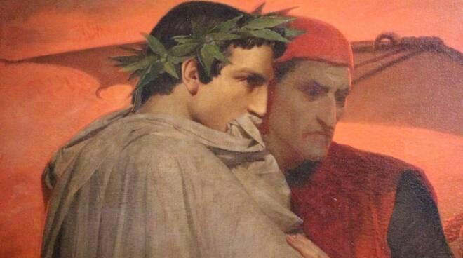 Dante e Virgilio - Foto dal web