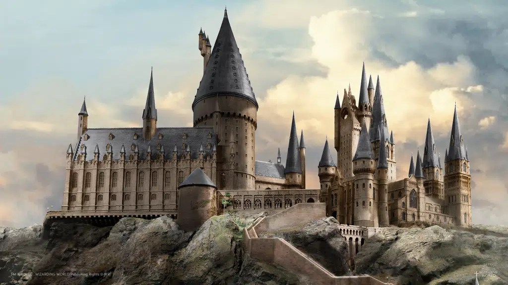 Hogwarts. The Wizarding World.