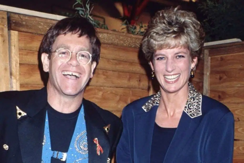 Elton John e Lady Diana, creditphoto: movieplayer.it