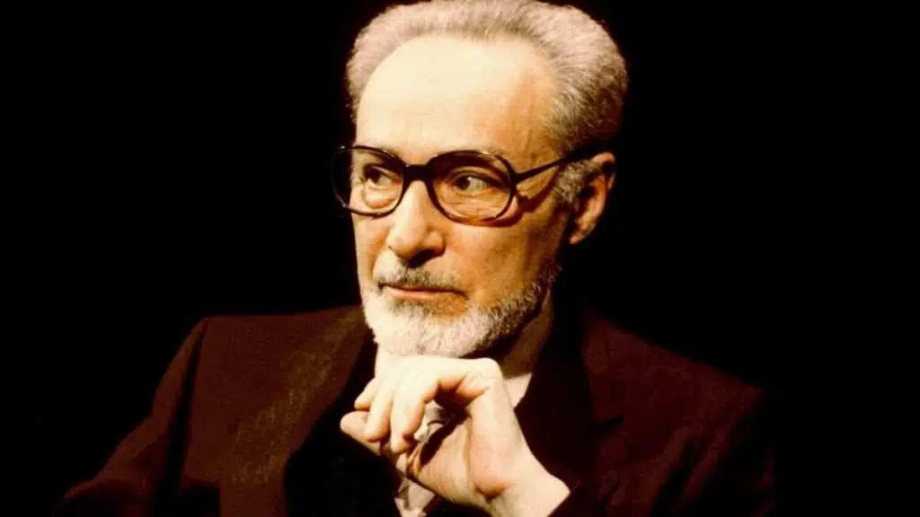 Primo Levi. PhotoCredit: dal web.