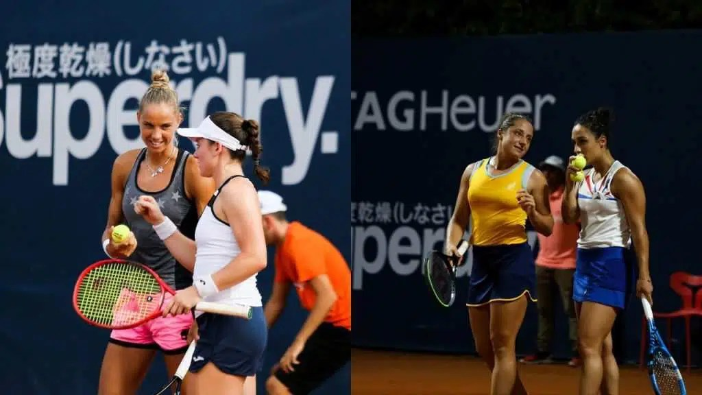 Finale doppio WTA Palermo - Photo Credit: via Twitter @LadiesOpenPA
