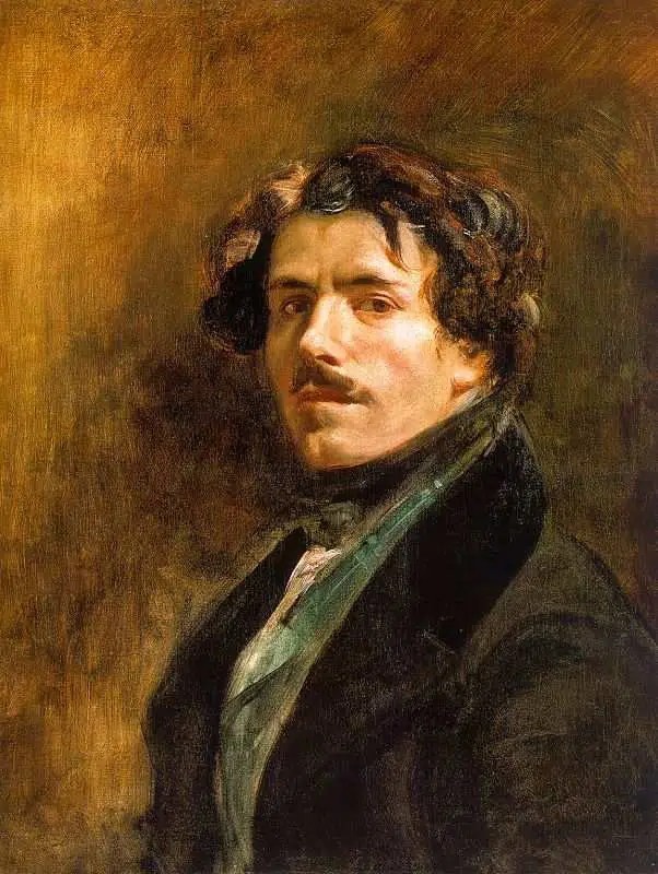 Autoritratto, Eugéne Delacroix. PhotoCredit: dal web.