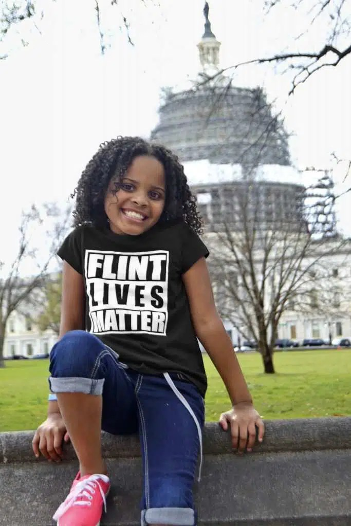 Little Miss Flint. credits: Ophra magazine