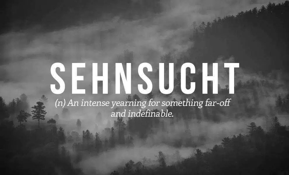 Sehnsucht - Photo Credits: web