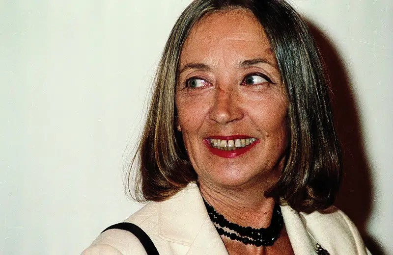 Oriana Fallaci - Photo Credits:Wikipedia