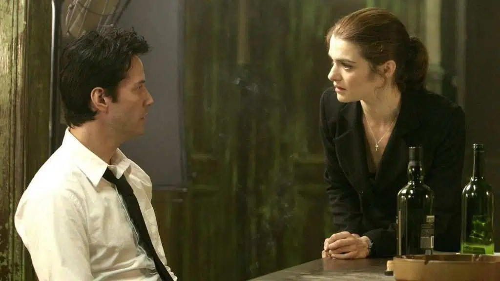 Keanu Reeves e Rachel Weisz in una scena del film - Photo Credits: web