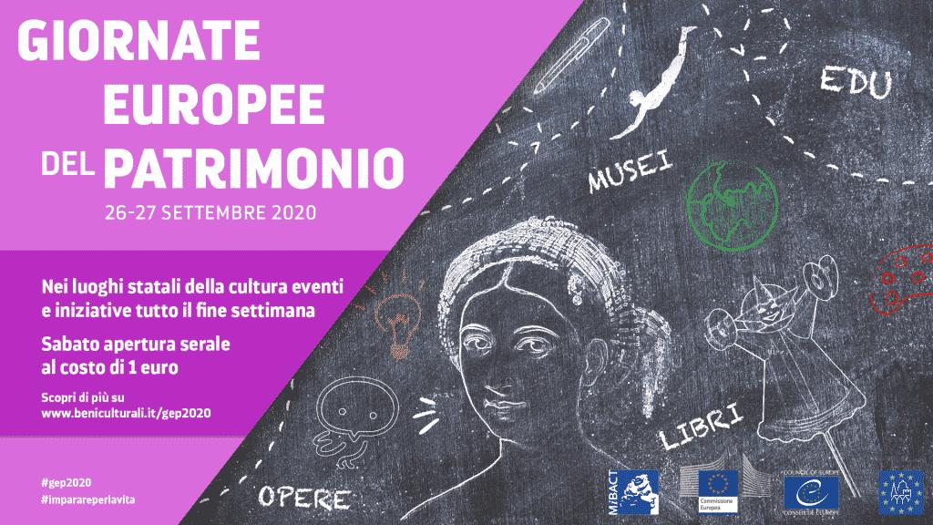 Le Giornate Europee del Patrimonio 2020