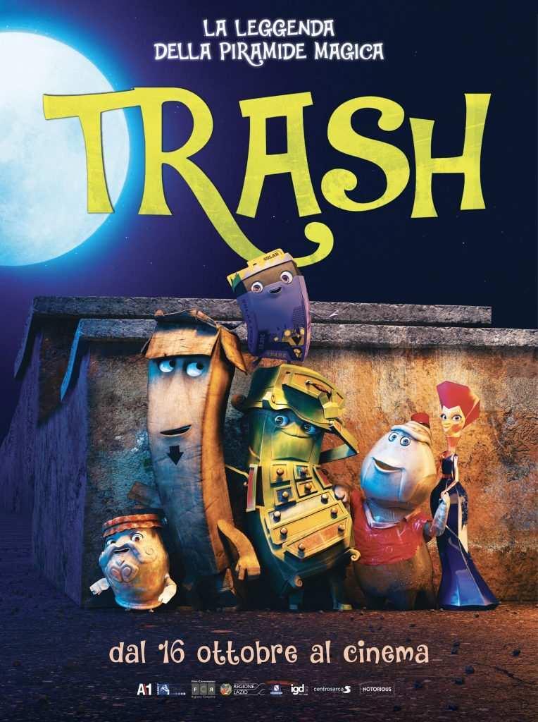 Trash: il cartone su spazzatura e riciclaggio arriva al cinema