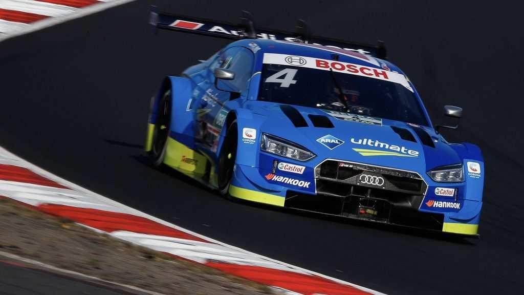 DTM Gara Nürburgring Sprint 2020, Frijns beffa Rast