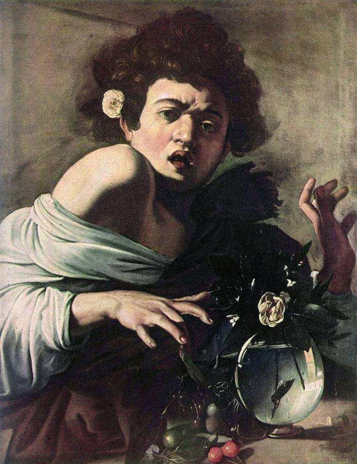 Caravaggio, Ragazzo morso da un ramarro - Photo Credits: web