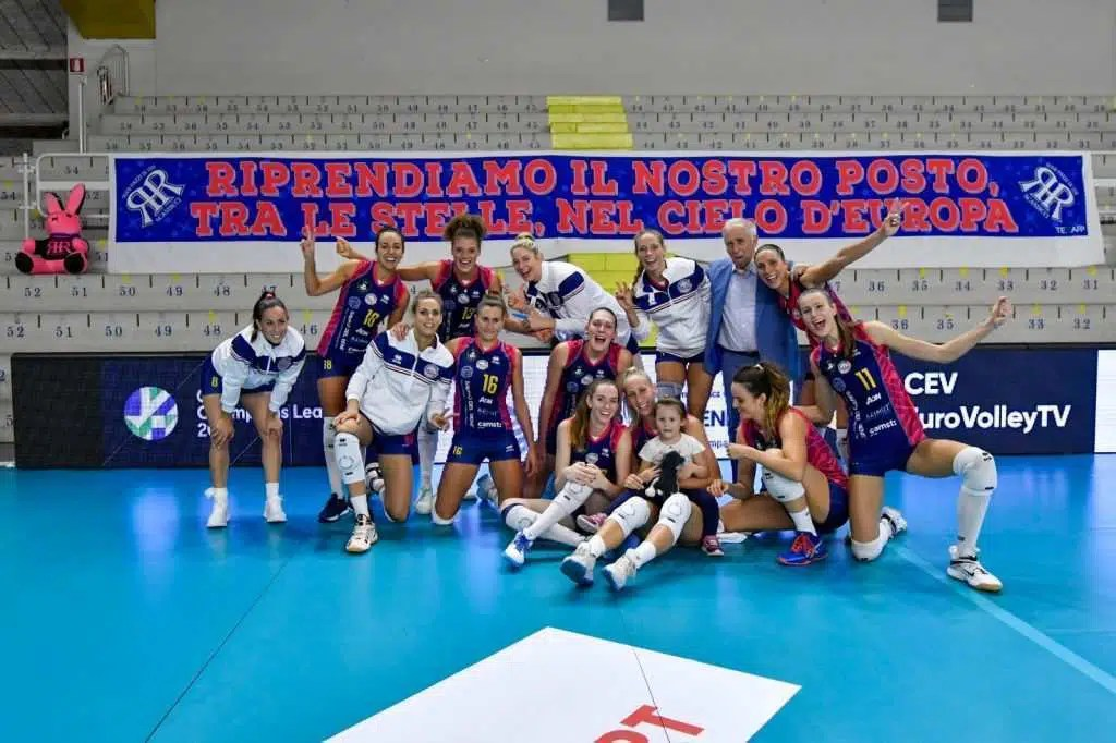 Scandicci volley champions league