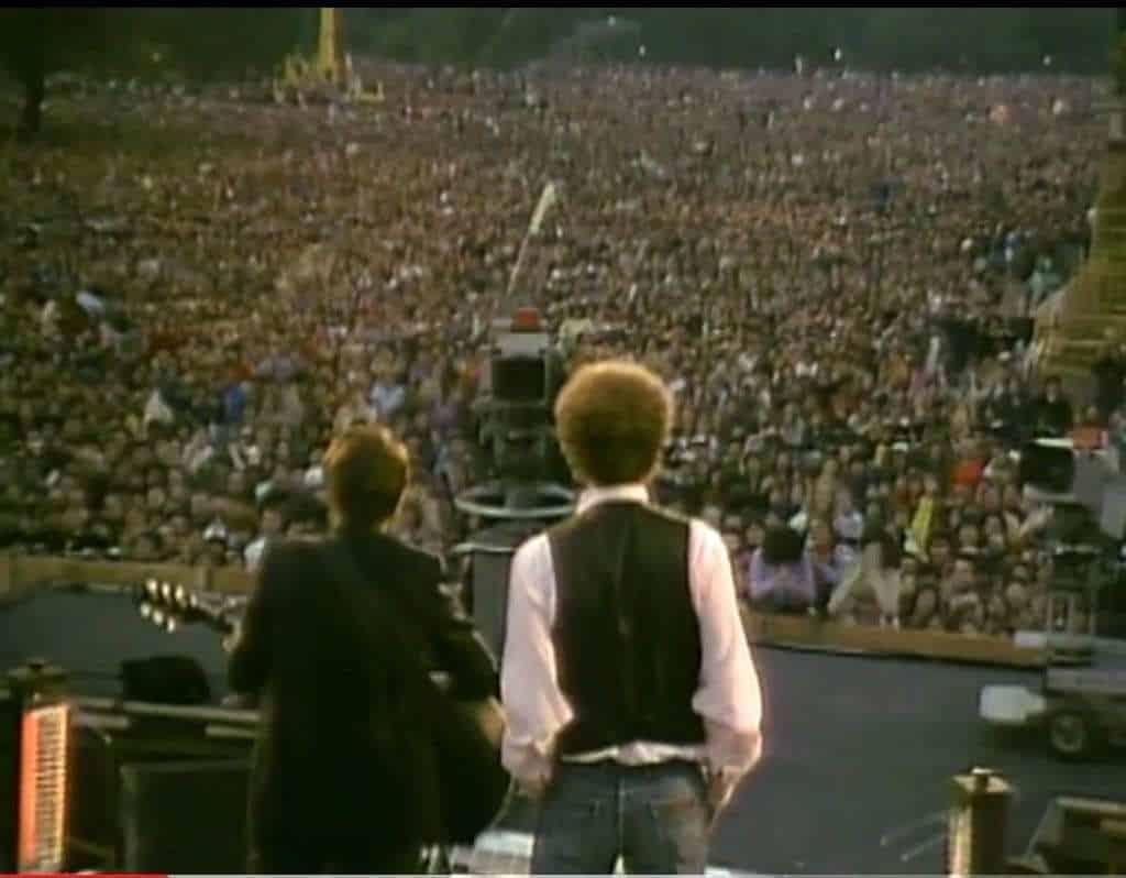Simon & Garfunkel, il canto del cigno del Concert in Central Park
