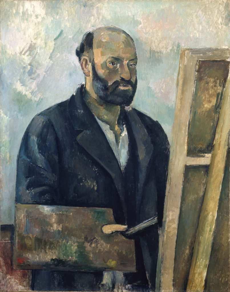 Autoritratto di Paul Cézanne - Photo Credits: web