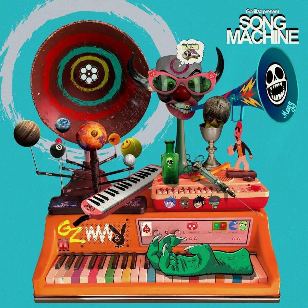 Gorillaz, in arrivo il nuovo progetto audiovisivo Song Machine