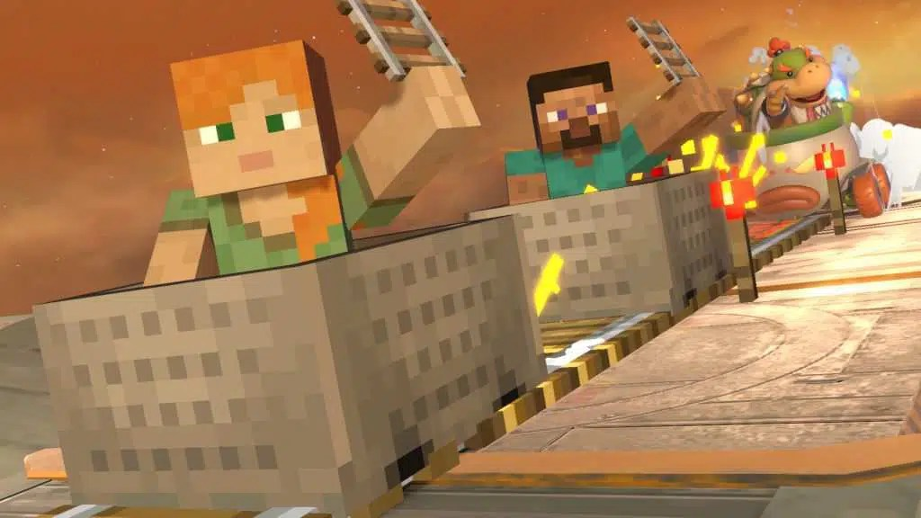 Super Smash Bros. Ultimate – In arrivo Steve e Alex di Minecraft