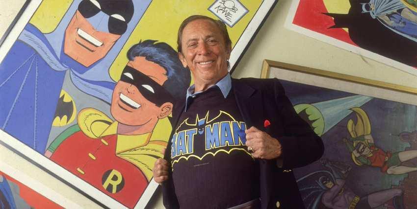 """Bob Kane, fumettista e """"papà"""" di Batman"""