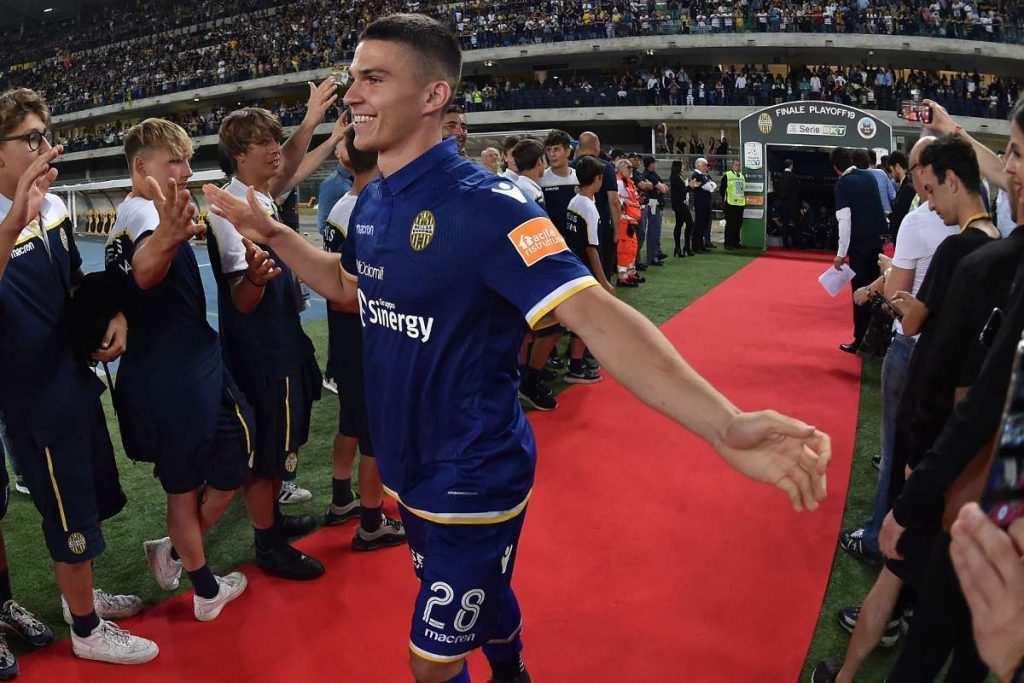 Ascoli, in attacco piace Tupta dell'Hellas Verona