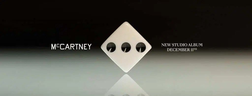 Paul McCartney, nuovo album in arrivo l'11 dicembre