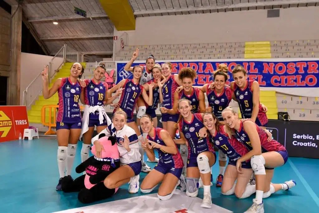 CEV Champions League 2020/2021: Novara comanda la Pool E
