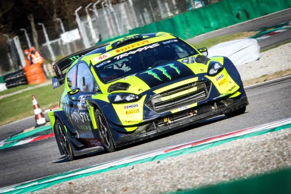 Rally di Monza, la dedica a Bergamo Gara tra neve e incidenti   Il video