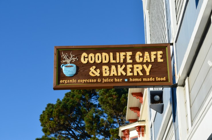 Good Life Cafe in Mendocino
