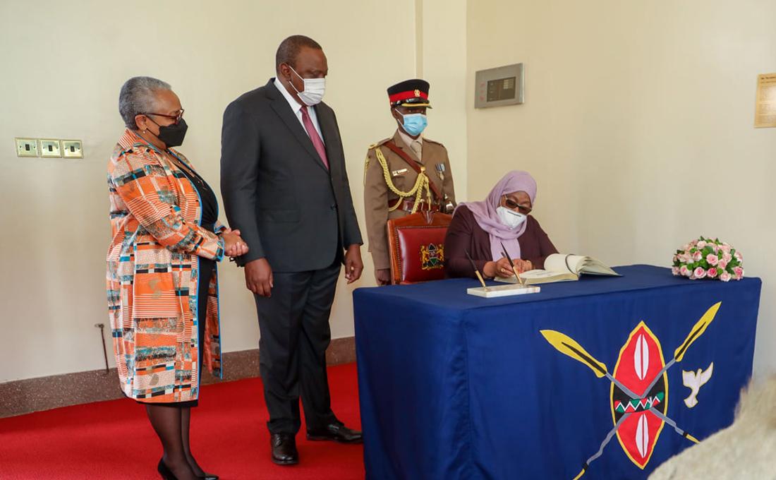 Kenya and Tanzania seal gas pipeline deal