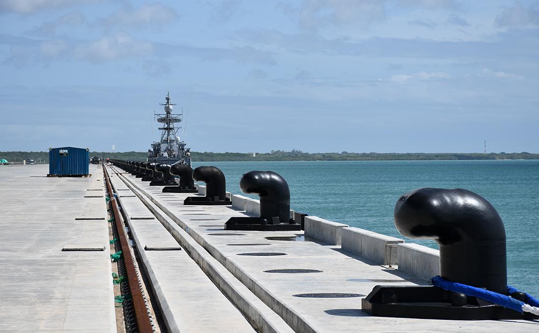 Lamu seaport set for Thursday's launch of transshipment operations