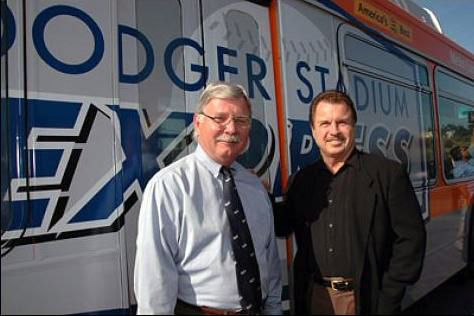 Dodger Express press event