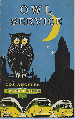 Owl Service brochure from February 15, 1947.