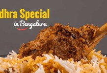 Andhra Special Hotels in Bangalore