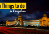 Fun Things to do in Bangalore